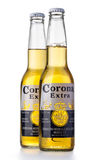 Photo of a bottle of Corona Extra Beer Royalty Free Stock Images
