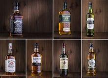 Photo of bottle of whiskey Royalty Free Stock Photos