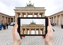 Photo of brandenburg gate in Berlin Royalty Free Stock Photo