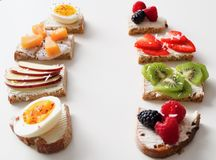 Photo of Bread With Fruits Stock Image