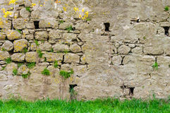 Photo brick wall fortress Royalty Free Stock Photography