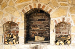 Photo of build fireplace Stock Photos