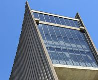 Skyscraper Building photograph. Photo of building for the outside Royalty Free Stock Images