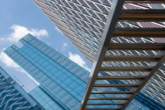 Skyscraper Building photograph. Photo of building for the outside Stock Image