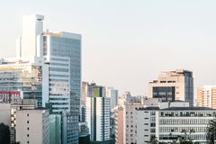 Buildings near Paulista Avenue in Sao Paulo, Brazil Stock Images