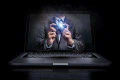 Photo business concept. Mixed media Stock Photos