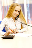 Photo of businesswoman. Royalty Free Stock Photo