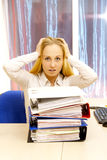 Photo of businesswoman. Stock Photo