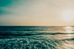 Photo of Calm Sea at Daytime Royalty Free Stock Photo