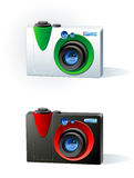 Photo camera Royalty Free Stock Photography