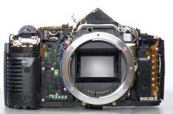 Photo camera beging repaired Stock Photo