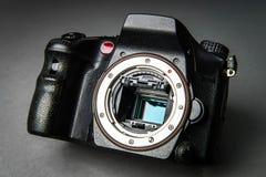 Photo camera body Royalty Free Stock Photography