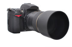 Photo Camera - DSLR Royalty Free Stock Image