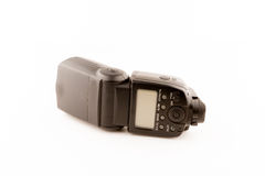 Photo camera flash isolated on white background. Royalty Free Stock Photos