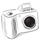 Photo camera icon Royalty Free Stock Photos