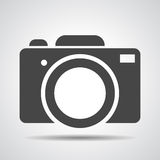 Photo camera icon. Illustration Stock Photos