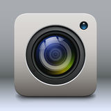 Photo camera icon Stock Images