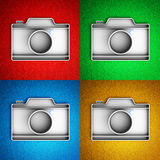 Photo camera icon Stock Images