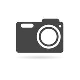 Photo camera icon. Vector icon Royalty Free Stock Photo