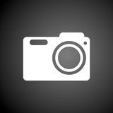Photo camera icon. Vector icon Royalty Free Stock Photos