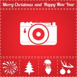Photo camera Icon Vector Royalty Free Stock Images