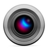 Photo camera icon Stock Photography