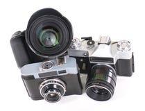 Photo Camera isolated on white background. Stock Photography