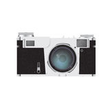 Photo camera isolated on white Royalty Free Stock Image