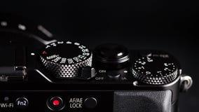 Photo camera knobs Royalty Free Stock Photography