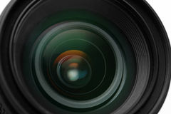 Photo camera lens close-up Stock Photos