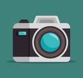 Photo camera lens design graphic. Photo camera lens design,  illustration graphic Stock Image