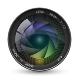 Photo camera lens Stock Image