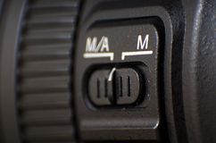 Photo camera lenses Royalty Free Stock Photo