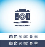 Photo camera logo icon Stock Image