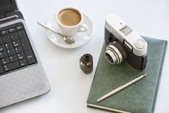Photo camera Stock Images