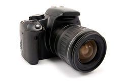 Photo camera over white Stock Photos
