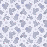 Photo camera seamless pattern Stock Images