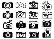 Photo Camera Set Icons Royalty Free Stock Image