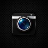 Photo camera vector icon Royalty Free Stock Image