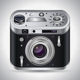 Photo camera vector illustration Royalty Free Stock Images