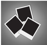 Photo cards frame Stock Photography