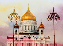 Photo Cathedral of Christ the Savior Stock Photography