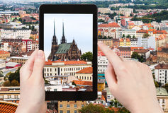 Photo of Cathedral of St Peter and Paul in Brno Stock Photography