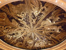 Photo of the Ceiling of The Venetian Macau. Royalty Free Stock Images