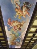 Photo of the Ceiling of The Venetian Macau. Stock Photos