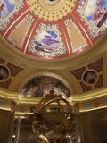 Photo of the Ceiling of The Venetian Macau. Royalty Free Stock Photography