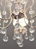 Luxury chandelier Stock Image