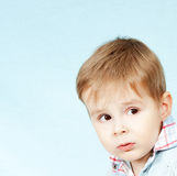 Photo of child in studio Royalty Free Stock Image