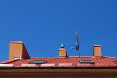 Photo of a chimney Royalty Free Stock Image