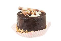 Photo of chocolate cake Royalty Free Stock Photography